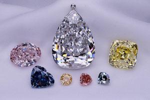 Цветные бриллианты, желтый, оранжевый, коньячный, пурпурный, зеленый ... f3a6ecdae79