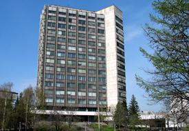 Современное здание Гохран в Москве
